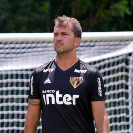 Daniel Cerqueira, auxiliar técnico de Cuca no São Paulo - Érico Leonan/saopaulofc.net
