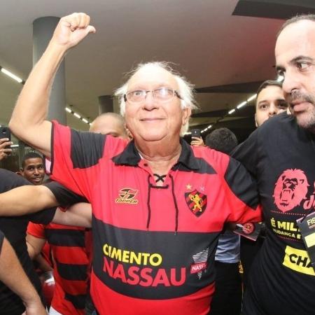 Milton Bivar foi reeleito para presidir o clube no biênio 2021-2022 - Williams Aguiar/Sport Club do Recife