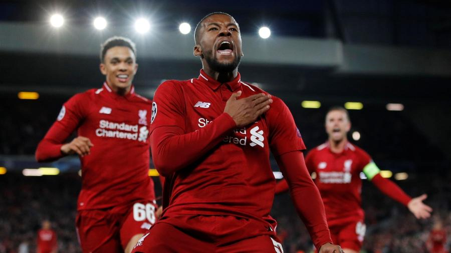 Wijnaldum deve deixar o Liverpool para assinar com o clube espanhol nos próximos dias - Phil Noble/Reuters