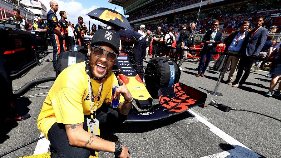 0bf3177c1428 Neymar parabeniza Hamilton por vitória no GP da Espanha: