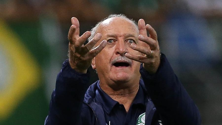 Felipão é o nome de consenso em um Fluminense dividido por duas personalidades forte - Cesar Greco/Ag. Palmeiras/Divulgação
