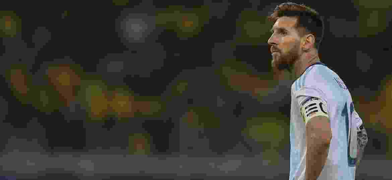 Messi usou os microfones com mais frequência nesta Copa América - Pedro UGARTE / AFP