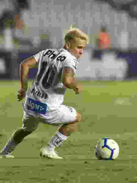"""Soteldo, camisa 10 do Santos, foi eleito o """"melhor jogador de 1,61m do mundo"""" - Ivan Storti/Santos FC"""