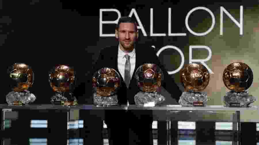 Troféu de 2019 foi o sexto do argentino na premiação da revista France Football - @FCBarcelona/Twitter