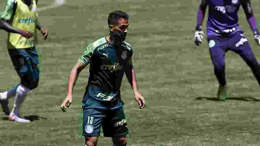 Zagueiro Luan treina no Palmeiras depois de se recuperar de lesão - Cesar Greco/SE Palmeiras