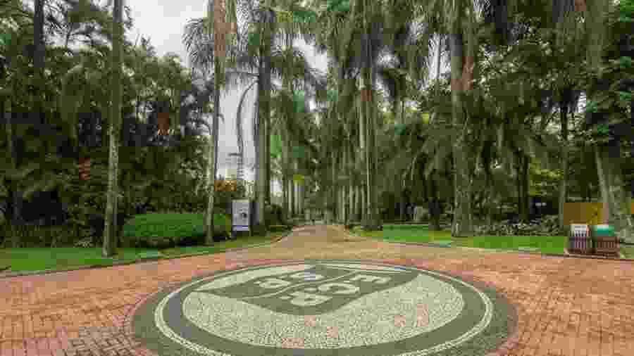 Alameda interna do Esporte Clube Pinheiros - Divulgação