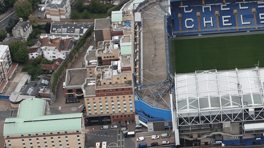 O hotel Millenium ao lado do complexo esportivo do Chelsea, em Londres - Divulgação/Chelsea