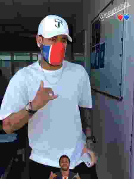 Neymar se reapresenta ao PSG - Reprodução/Instagram
