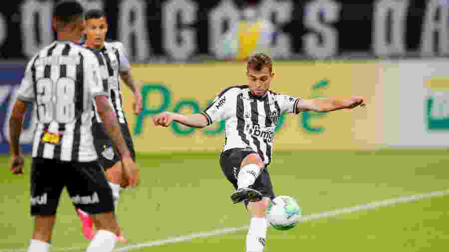 Hyoran, meio-campista do Atlético-MG, deve ser titular da equipe mais uma vez diante do Tombense - Bruno Cantini/Atlético-MG