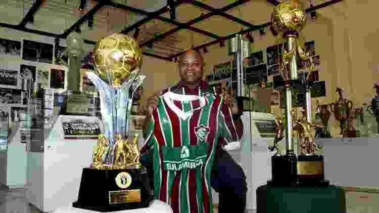 Aldo relembrou momentos de sua passagem vencedora pelo Fluminense nos anos 1980 - Mailson Santana/Fluminense FC - Mailson Santana/Fluminense FC