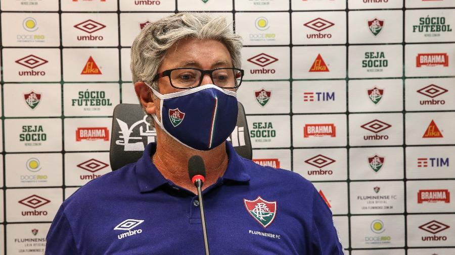 Odair Hellmann, técnico do Fluminense - Lucas Mercon/Fluminense FC