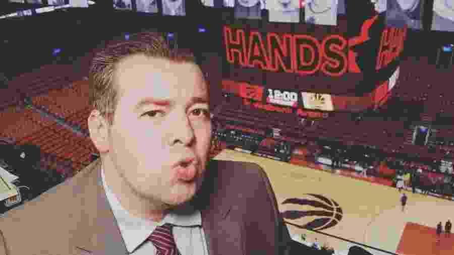 Rômulo Mendonça, narrador dos canais ESPN - Reprodução/Instagram