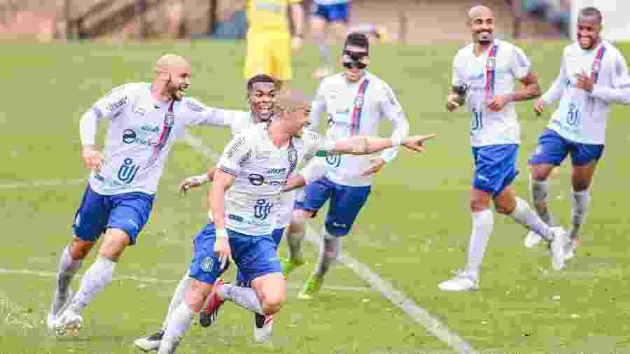 Atletas do clube aceitaram o acordo proposto e vão entrar em campo contra o Novorizontino, pela Série D - Diogo Reis/AGIF