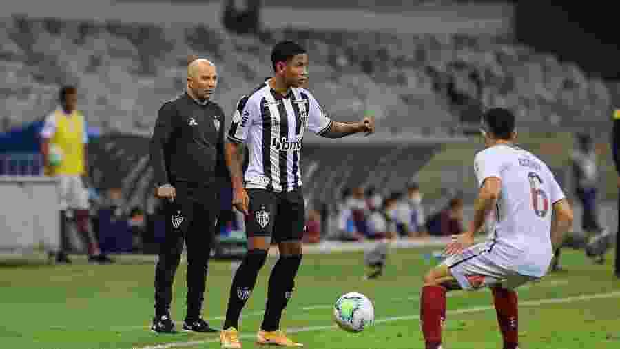 Sampaoli disse que Atlético-MG foi passivo no 1º tempo contra o Flu, mas incrível no segundo - Pedro Souza/Atlético-MG