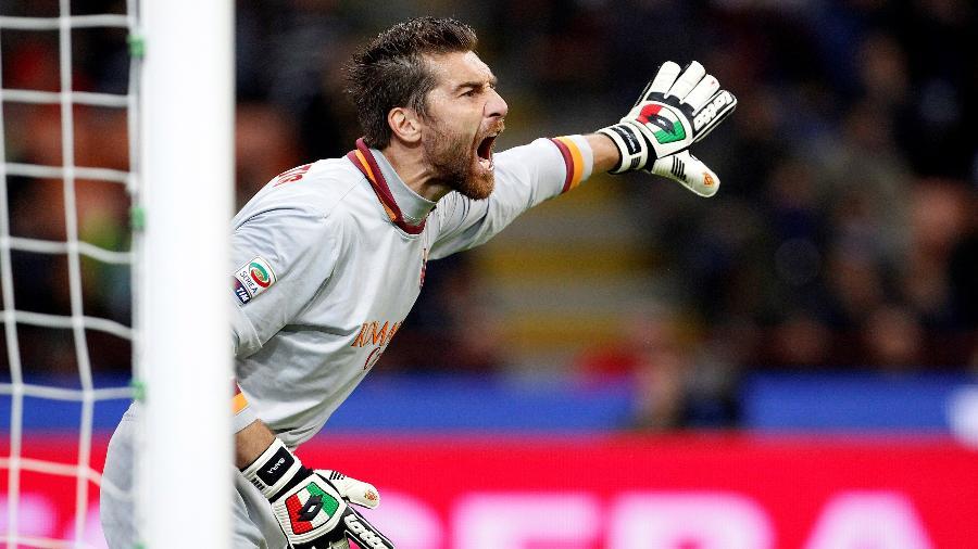 Morgan De Sanctis, ex-goleiro da Roma, em imagem de 2013 - REUTERS/Giampiero Sposito/