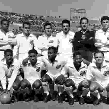 Santos bicampeão da Libertadores com Pelé - Reprodução