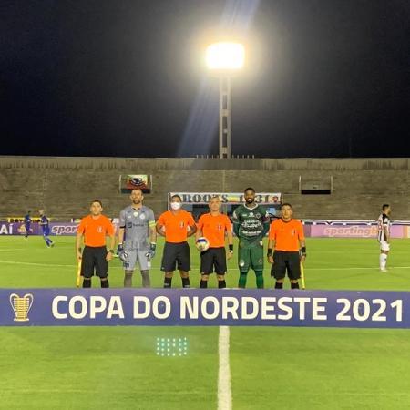 Partida entre Botafogo-PB e Confiança aconteceu no Almeidão - Ascom Confiança