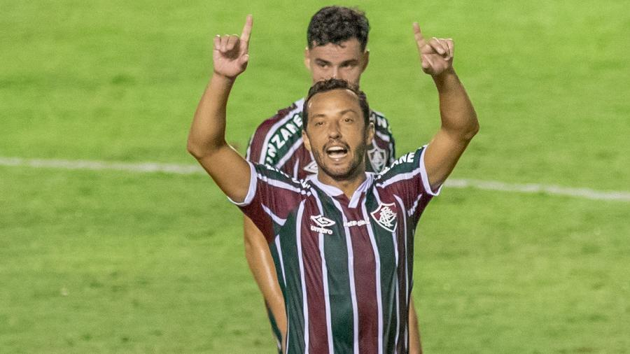 Nenê, do Fluminense: clube fará parte da semana de estreia do acordo entre Disney e Facebook por mais jogos da Libertadores - MAGA JR/ESTADÃO CONTEÚDO