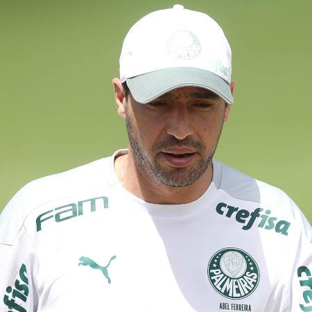 Abel Ferreira, técnico do Palmeiras, comanda treino no CT do Brasiliense - Cesar Greco