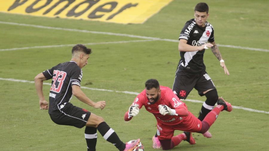 Vasco e Ponte Preta ficaram no empate em 1 a 1 no Moisés Lucarelli, em Campinas (SP), pela Série B -  DENNY CESARE/CÓDIGO19/ESTADÃO CONTEÚDO
