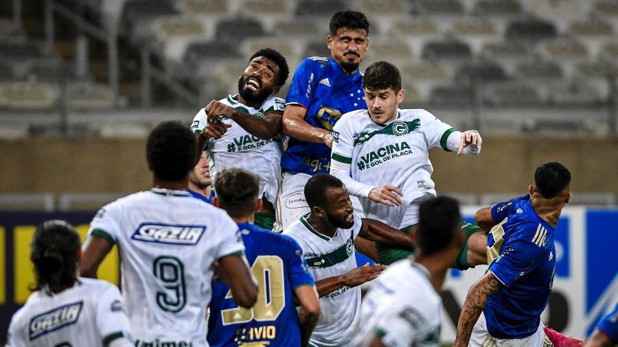 Cruzeiro arranca empate com o Goiás no final do segundo tempo, no Mineirão - Mineirão/Divulgação