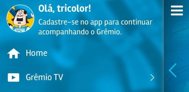 Aplicativo do Grêmio vai buscar novos sócios e receitas para o clube