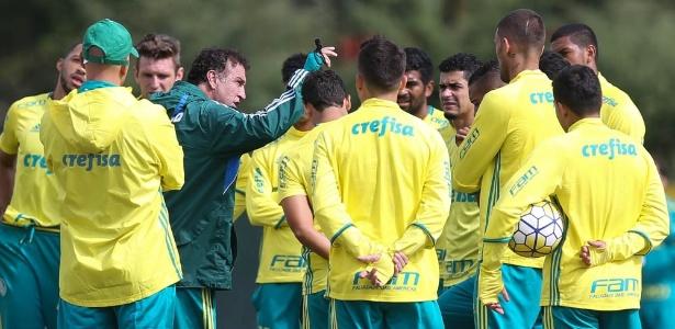Cuca se despede do Palmeiras na última semana de treinamento do ano