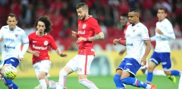 Uruguaio Nico López vai ser titular em jogo com cara de teste para o Inter - Ricardo Duarte/SC Internacional