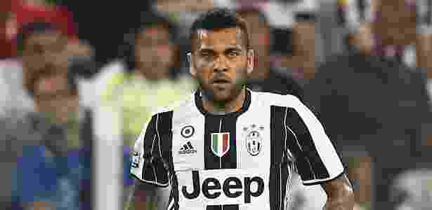 Daniel Alves, da Juventus - MARCO BERTORELLO/AFP - MARCO BERTORELLO/AFP