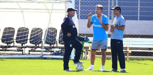 Renato Gaúcho fechou o treinamento do Grêmio nesta segunda-feira para final