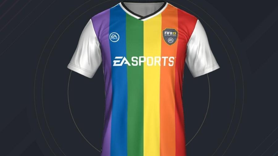 Jogo de videogame da série Fifa tem kit com símbolo do movimento LGBT - Divulgação
