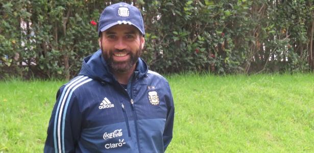 Bruno Gabrieli é analista de desempenho da seleção argentina sub-20