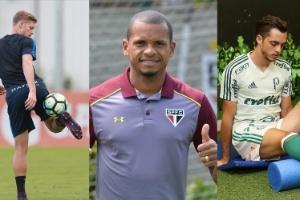 Fotomontagem:Robson Ventura/Folhapress Divulgação São Paulo e Palmeiras