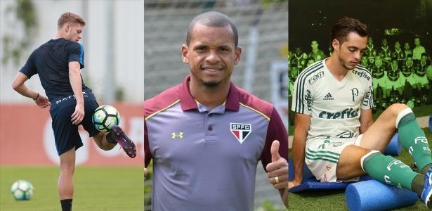 Marlone (foi para o Atlético-MG), Edimar (São Paulo) e Hyoran (Palmeiras)