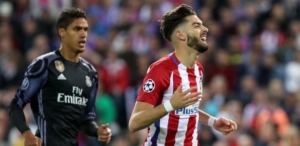 Yannick Carrasco tem contrato com o Atlético de Madri em 2022
