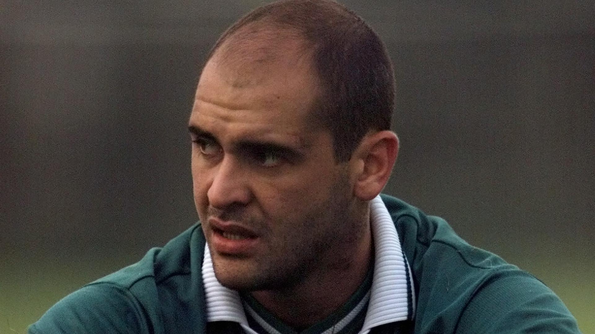 Marcos em treino do Palmeiras em 2002