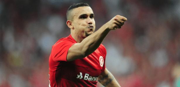 William Pottker será centroavante do Inter na ausência de Leandro Damião, lesionado