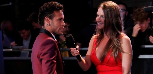 Neymar foi escolhido o terceiro melhor jogador do mundo no prêmio da Fifa - Eddie Keogh/Reuters