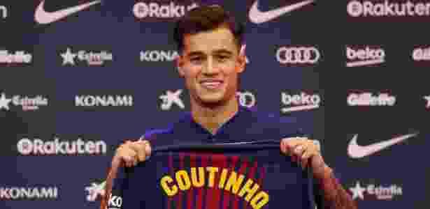 Jornal  Barcelona reserva camisa 7 a Griezmann  Coutinho será o 14 ... 727884a1be3c1