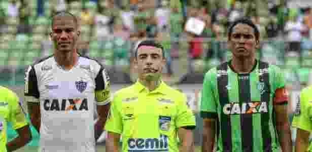 Igor Junio Benevenuto foi árbitro do jogo entre América-MG e Atlético-MG - Bruno Cantini/Divulgação/Atlético-MG