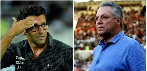 Alberto Valentim e Abel Braga deixaram Botafogo e Fluminense no recesso para a Copa do Mundo