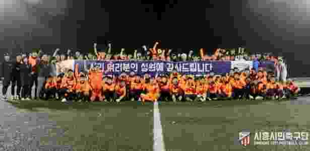 Siheung City, do técnico Gléguer - Siheung City FC - Siheung City FC