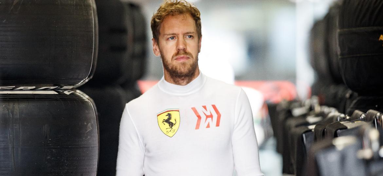 Vettel errou muito na segunda metade da temporada e viu Hamilton acumular vitórias rumo ao título - Lars Baron/Getty Images