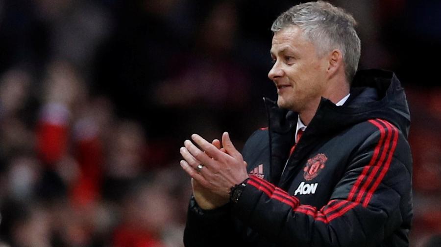 Gunnar Solskjaer deve ganhar novo e longo contrato com o Manchester United - REUTERS/Phil Noble