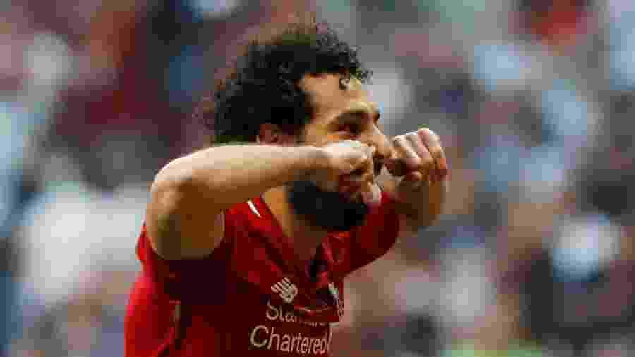 Salah é a esperança de gols do Liverpool na final do Mundial - REUTERS/Susana Vera