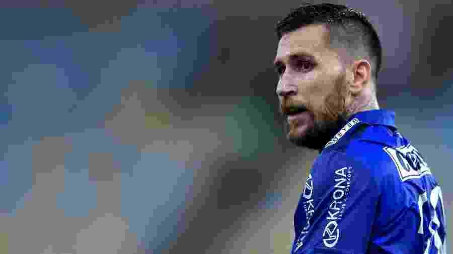 Jonatan Gomez está suspenso e não encara o Bahia - Thiago Ribeiro/AGIF