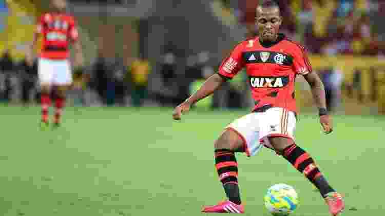 Samir, zagueiro do Flamengo, em 2014 - Alexandre Vidal/Fla Imagem - Alexandre Vidal/Fla Imagem