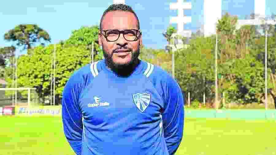 Claiton é técnico de futebol e foi autor do gol da vitória do Inter contra o Athletico em 1999 - Divulgação/Cruzeiro-RS