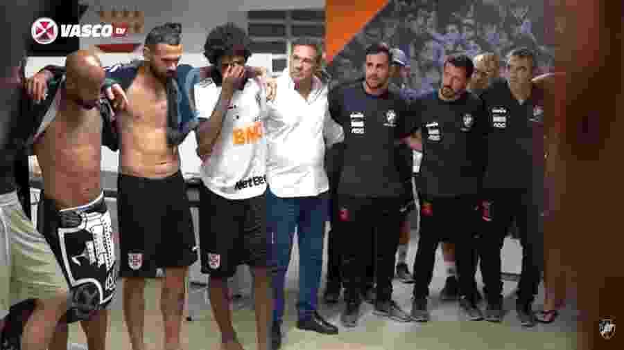 Talles Magno se emociona ao se despedir do Vasco, antes de seleção sub-17 - Reprodução Vasco TV