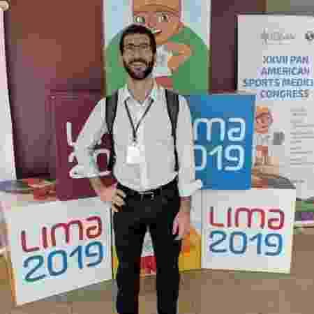 Roberto Nahon, médico do COB no Pan - Reprodução/Instagram